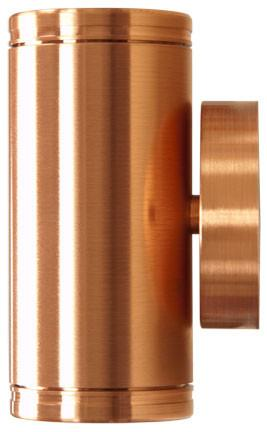 "Solid Copper 5""h 12V Up-Down Wall Light"