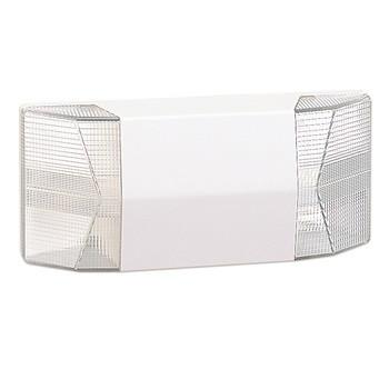 Emergency Xenon Light w/ Beveled Face, White Architectural Nora Lighting