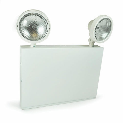 Steel Body Emergency w/ Two Adjustable Heads, Battery Backup Architectural Nora Lighting