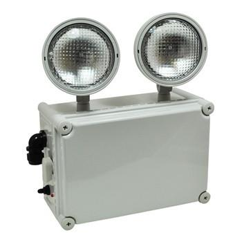 Wet Location Emergency w/ Two Adjustable Heads, Remote Capable Architectural Nora Lighting