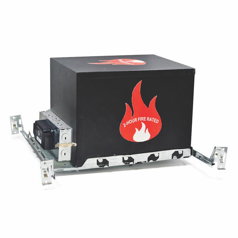 "6"" Line Voltage 2-Hour Fire Rated IC/Non-IC Air-Tight, 120V"