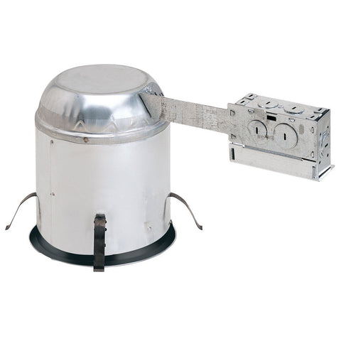 "6"" LED Diamond Series Remodel Housing, IC, Air-Tight, Quick Connect Recessed Nora Lighting"