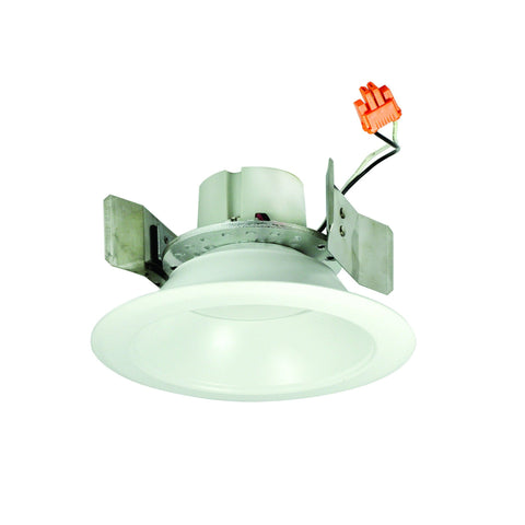 "5"" Cobalt Retrofit, 90+ CRI, 1000 Lumens, 4000K, White Reflector Recessed Nora Lighting"