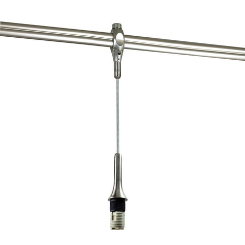 20' Rail Mounted Pendant Assembly, G9 Halogen Socket, Bronze