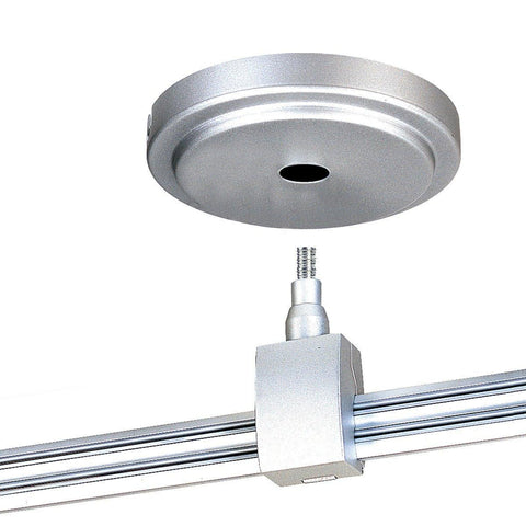 "4"" Power Stem (only) for Nora Rail - Silver, Bronze or Brushed Nickel Tracks Nora Lighting Silver"
