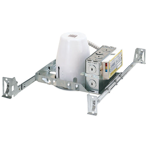 "4"" 13W Standard PL New Construction Housing, Electronic, 120-277V"