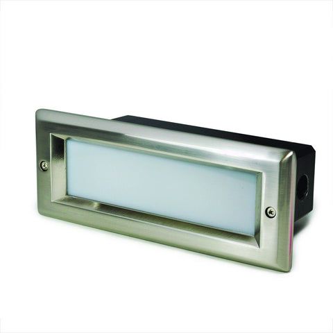 LED 120V Brick Step Light w/ Lens (3 Finish Options)