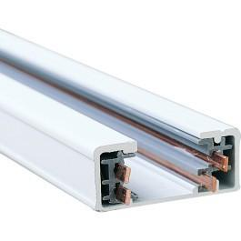 Nora Dual Circuit Track Sections - 3 Finish and 4 Length Options Tracks Nora Lighting White 4'