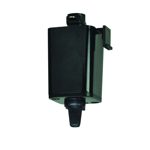 Pendant to Track adapter, Black