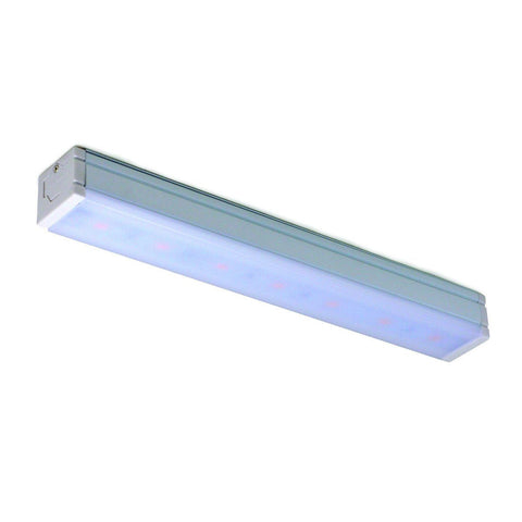 "24"" 8W Bravo Linear Light, 4000K, White Finish Wall Nora Lighting"
