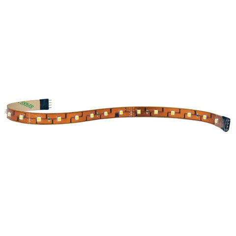 "12"" 24V Damp Label Section LED Tape Light, 2700K CCT"