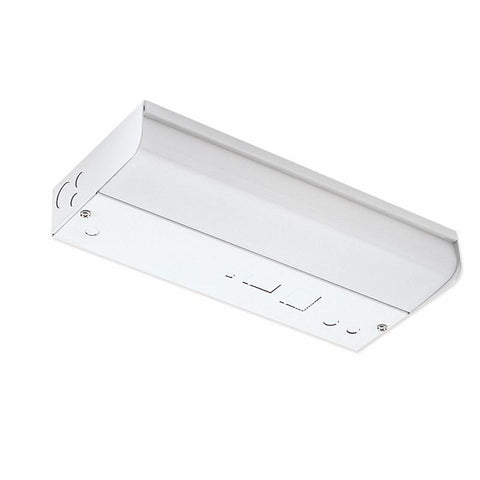 "12"" Fluorescent Under Cabinet w/ Lamp & Switch, White Wall Nora Lighting"