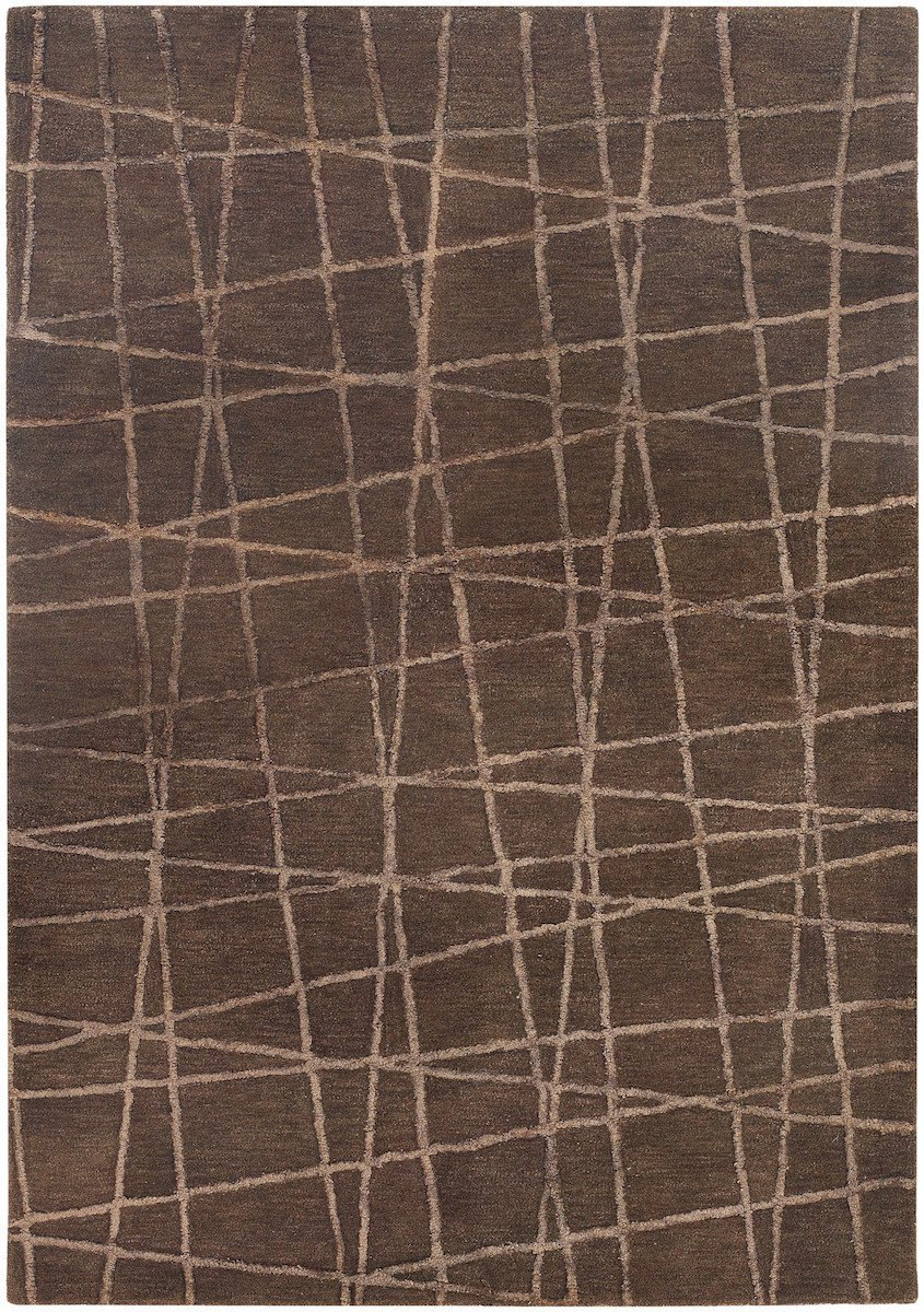 Oslo 31901 5'x7'6 Brown Rug Rugs Chandra Rugs