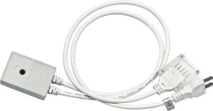 Multi-feed LED Connector for up to 6 Lines w/Powercord