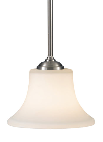 Barrington One Light Mini-Pendant - Brushed Steel