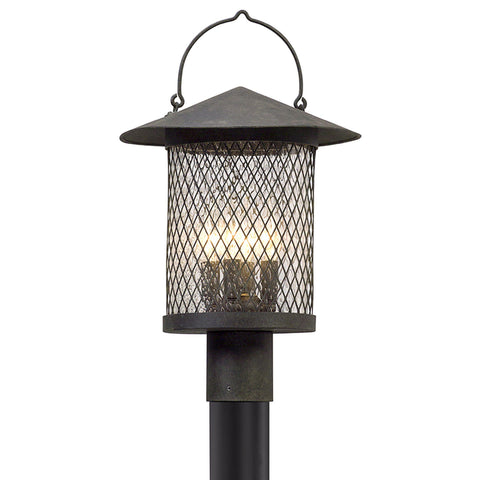 Altamont 4 Light Post Lantern Large - French Iron