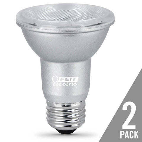 Feit Electric PAR20 Dimmable LED, Gen 11,  50W Equivalent, 5000K, 2 Pk