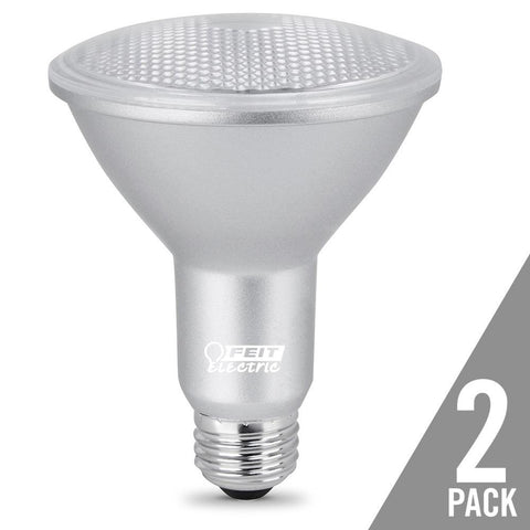 Feit Electric PAR30 Dimmable LED, Long Neck Gen 11, 75W Equivalent, 3000K, 2 Pk