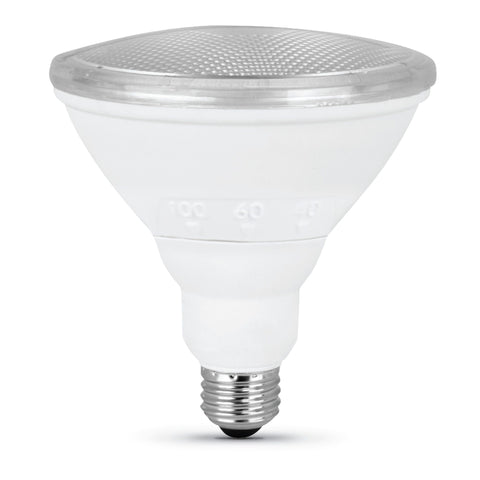 LED PAR38 90W Equiv. Beam Choice 30/60/100 Dimmable Bulb - 3000K Bulbs Feit Electric