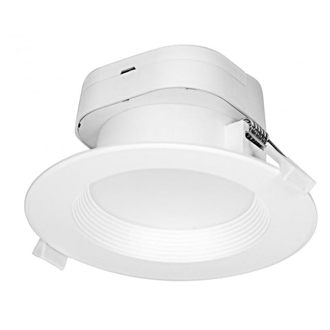 "LED 4"" Direct Wire Recessed Downlight - 7W Recessed Satco 2700K"
