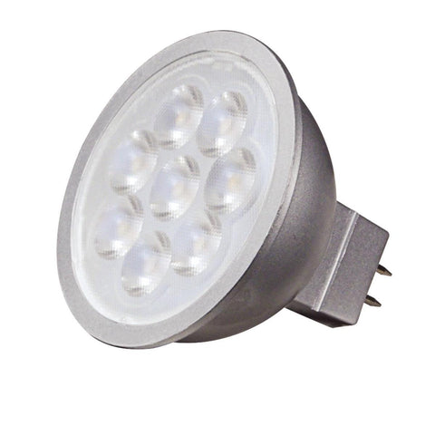 SATCO Dimmable 50W Equiv. MR16 LED Bulb - 3000k