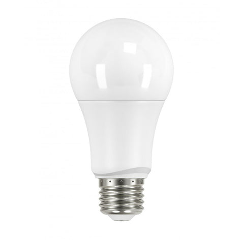 SATCO 9.5 Watt - A19 LED - Frosted - 3000k Medium Base - Non-Dimmable Bulbs Satco