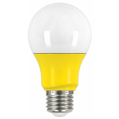 SATCO 2 Watt - A19 LED - Yellow