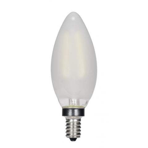 SATCO 3.5 Watt Ctc LED - Frosted - Candelabra Base - 2700k