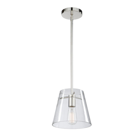 Caf Collection 10 in. wide Chrome Pendant