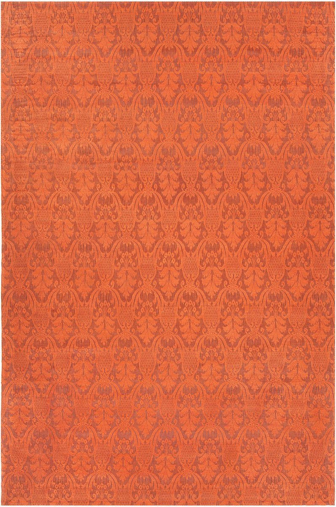 Shenaz 31206 7'9x10'6 Orange Rug Rugs Chandra Rugs