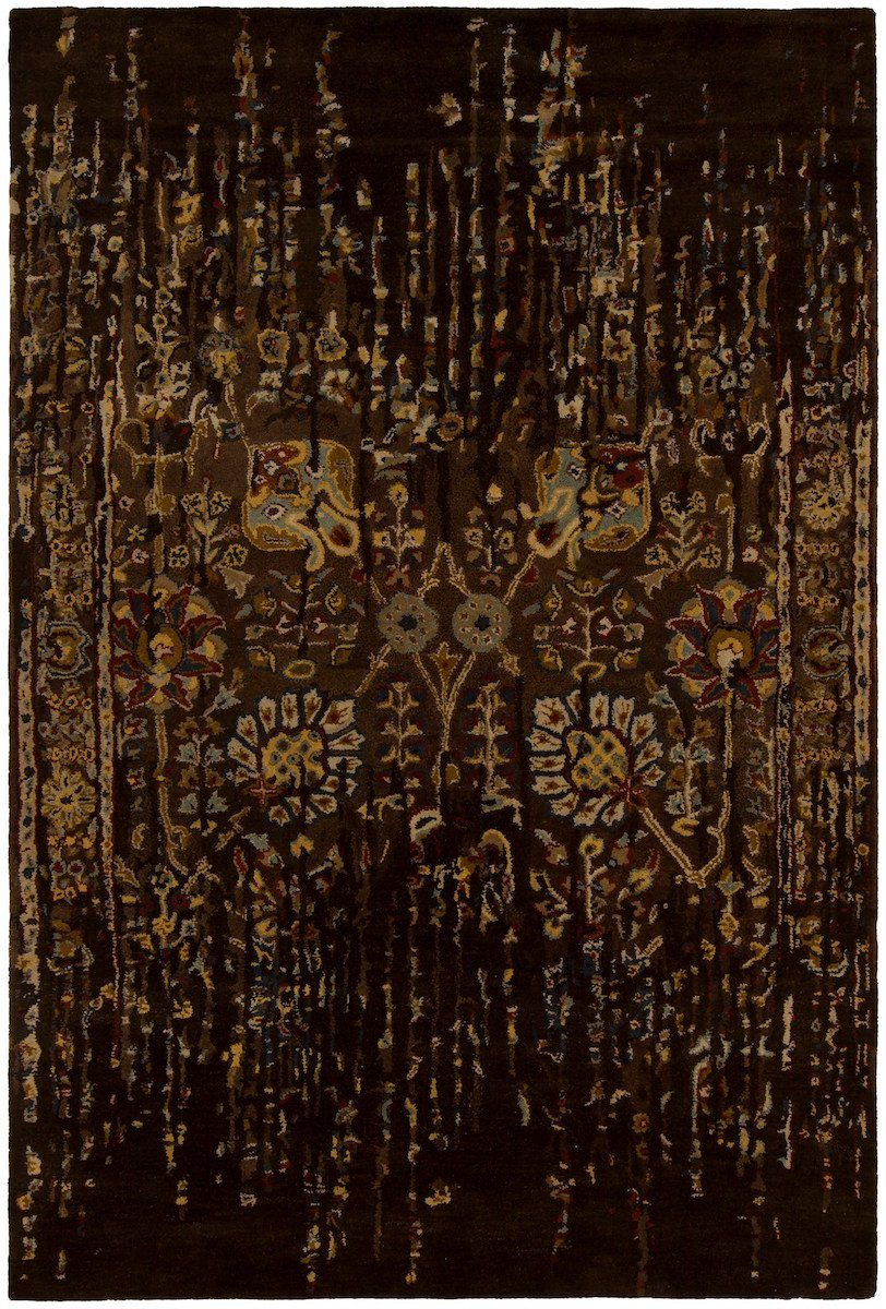 Spring 29103 5'x7'6 Brown Rug Rugs Chandra Rugs