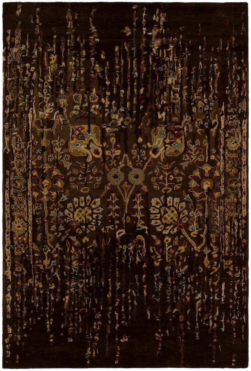 Spring 29103 7'9x10'6 Brown Rug Rugs Chandra Rugs