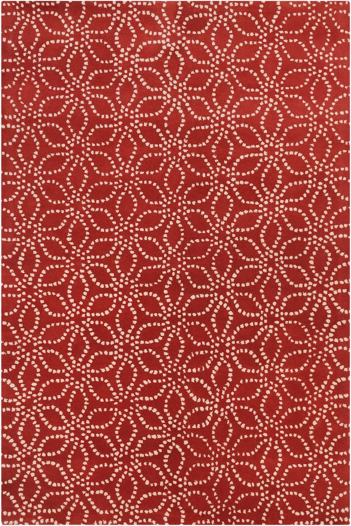 Stella 52135 5'x7'6 Red Rug Rugs Chandra Rugs