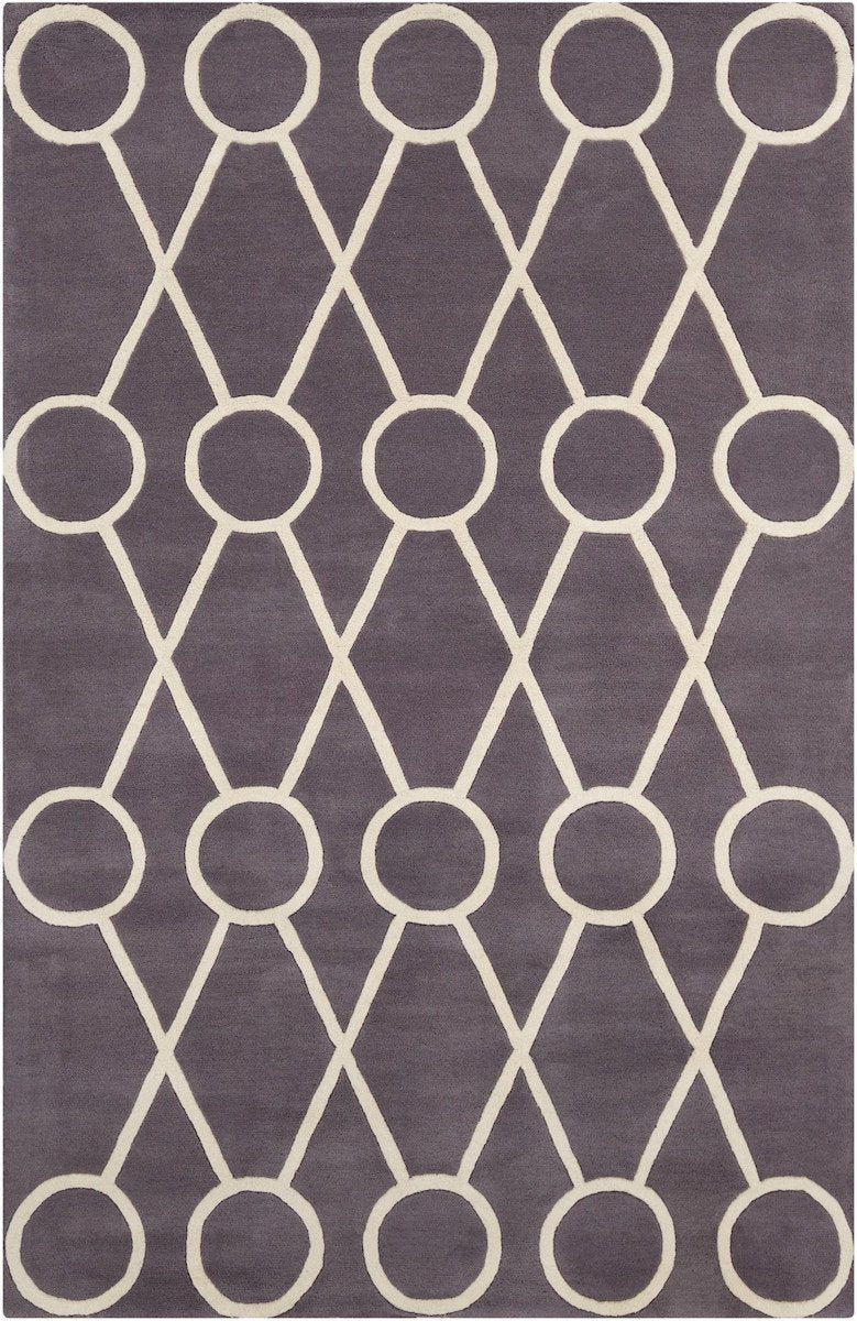Stella 52179 8'x10' Gray Rug Rugs Chandra Rugs