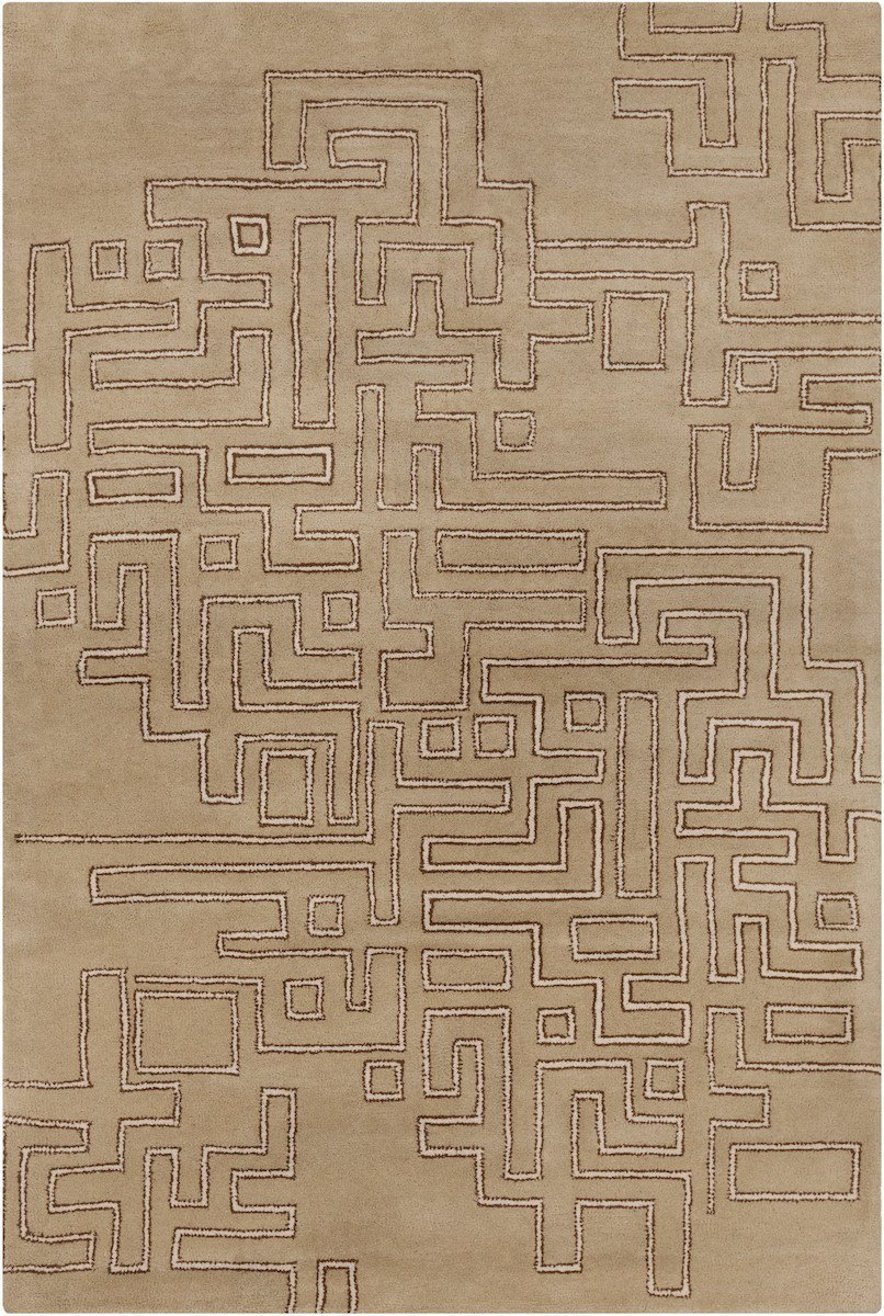 Stella 52213 8'x10' Brown Rug Rugs Chandra Rugs