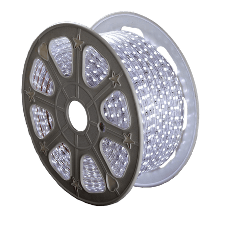 120V LED Striplight RML LUX 100ft Roll IP67 4W/Ft - 5000K Daylight White Wall Dazzling Spaces