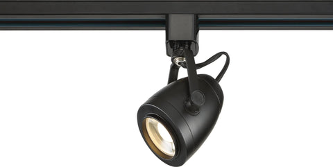Nuvo Lighting 1 Light LED 12W Track Head Pinch Back Black 24 Deg. Beam TH412