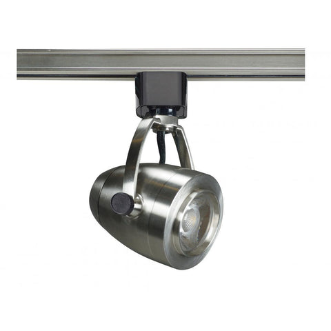 Nuvo Lighting 1 Light LED 12W Track Head Pinch Back Shape Brushed Nickel 36 Deg. Beam TH417
