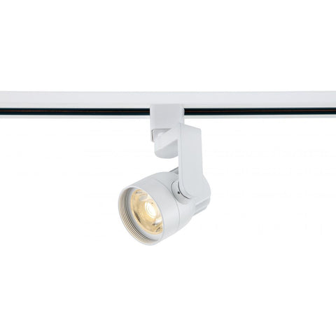 Nuvo Lighting 1 Light LED 12W Track Head Angle Arm White 36 Deg. Beam TH423