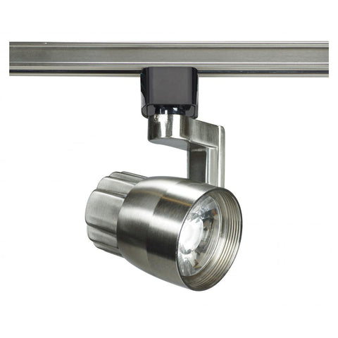 Nuvo Lighting 1 Light LED 12W Track Head Angle Arm Brushed Nickel 36 Deg. Beam TH427