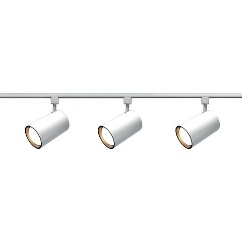 Nuvo Lighting 3 Light R30 Straight Cylinder Track Kit TK318