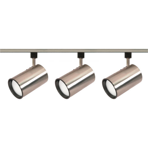 Nuvo Lighting 3 Light R30 Straight Cylinder Track Kit TK341