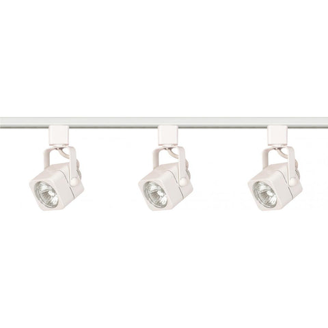 3 Light MR16 Square Track Kit Line Voltage