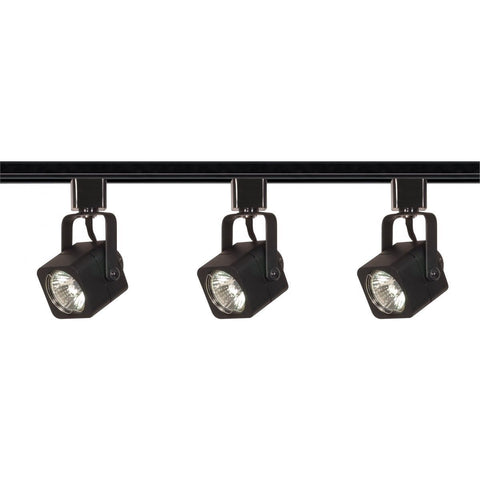 Nuvo Lighting 3 Light MR16 Square Track Kit Line Voltage TK346