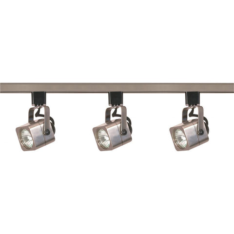 Nuvo Lighting 3 Light MR16 Square Track Kit Line Voltage TK347