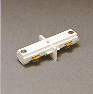One-Circuit Mini Coupler - White Tracks PLC Lighting