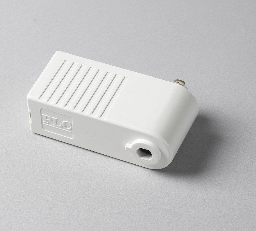 Low Voltage Pendant Adapter for Track - White Tracks PLC Lighting
