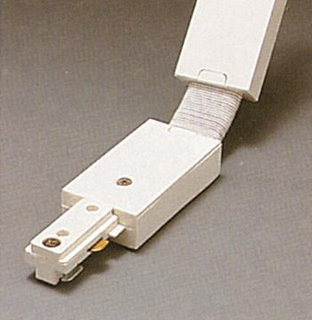 Two-Circuit Flexible Connector - White Tracks PLC Lighting