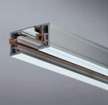 4ft One-Circuit Track Section - White Tracks PLC Lighting