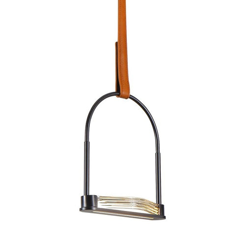 Ravenna Leather Strap Dimmable LED Mini Pendant